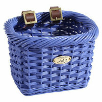 Cycle Force Nantucket Bicycle Basket Co. Rectangle Gull Collection - Purple