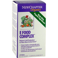 New Chapter Chapter Complete E Food Complex, 120 Tablets