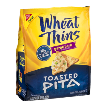 Nabisco Wheat Thins Toasted Pita Garlic Herb