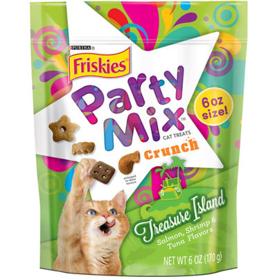 Friskies® Party Mix Crunch Treasure Island Cat Treat