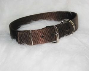 Hamilton Halter Company 1-3 4 D T Large Cow Collar Brown 44 Inch - DCC 44BR