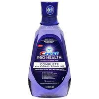 Crest Pro-Health Complete Anticavity Fluoride Rinse