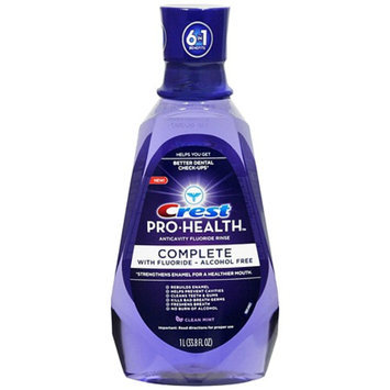 Crest Pro-Health Complete Anticavity Fluoride Rinse