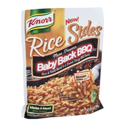Knorr® Rice Sides Baby Black Bbq