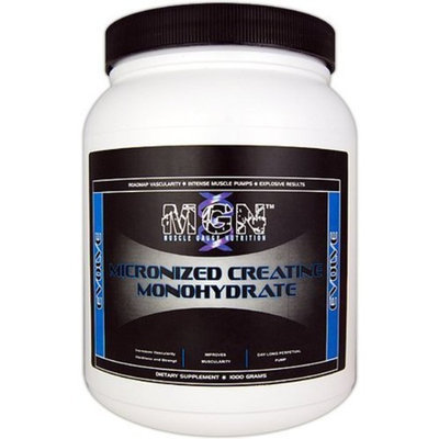 Muscle Gauge Nutrition Micronized Creatine Monohydrate -- 1000 g