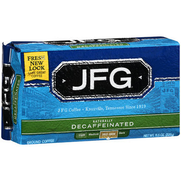 JFC Medium Dark Decaffeinated Ground Coffee, 11.5 oz
