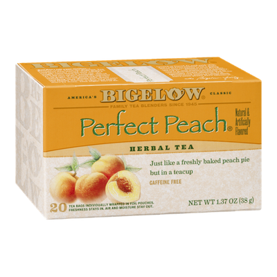 Bigelow Herbal Tea Perfect Peach - 20 CT