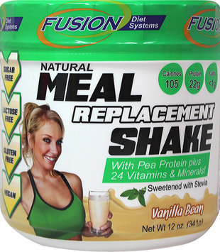 Fusion Diet Systems 00429 Vanilla Meal Replacement Shake