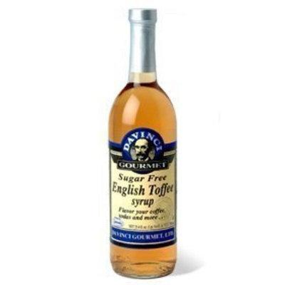 Davinci Gourmet Da Vinci SUGAR FREE English Toffee Syrup with Splenda, 750mL