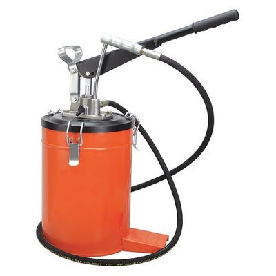 WESTWARD 21EM10 Grease Pump,4000 PSI,15 1/2 In.