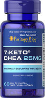 Puritan's Pride 7-Keto DHEA 25 mg-60 Softgels