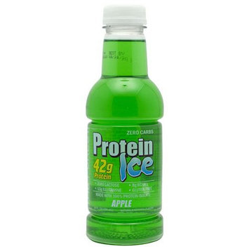 Advanced Nutrient Science Intl Advanced Nutrient Science Protein Ice 12 - 20fl oz Bottles Apple Protein