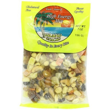 Island Snacks High Energy Mix, 7-Ounce (Pack of 36)