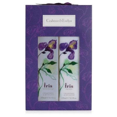 Crabtree & Evelyn Iris - Bath Gel & Body Lotion Duo