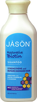 JĀSÖN Restorative Biotin Shampoo Strengthens and Repairs Damaged Hair
