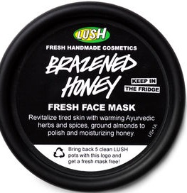 LUSH Brazened Honey Face Mask