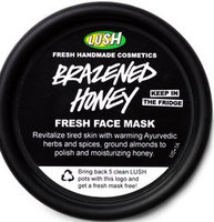 LUSH Brazened Honey Face Mask