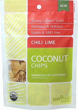 Navitas Naturals CHILI LIME COCNT CHP, OG2, (Pack of 12)