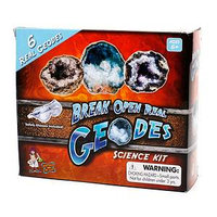 Discover with Dr. Cool Break Your Own Geodes Science Kit