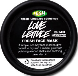 LUSH Love Lettuce Face Mask