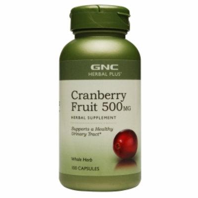 Gnc Herbal Plus Formula GNC Herbal Plus Cranberry Fruit 500 mg