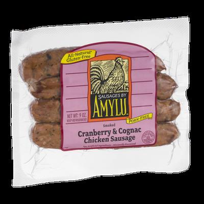 Amylu Cranberry & Cognac Chicken Sausage