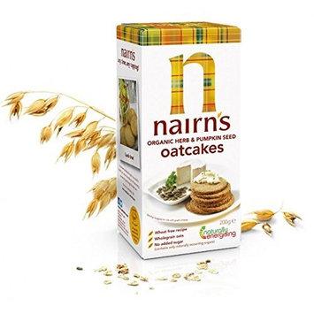 Nairns Nairn's Organic Herb Oatcake Cracker -7.1 oz. (Pack of 12)