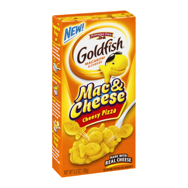 Goldfish® Mac & Cheese Cheesy Pizza