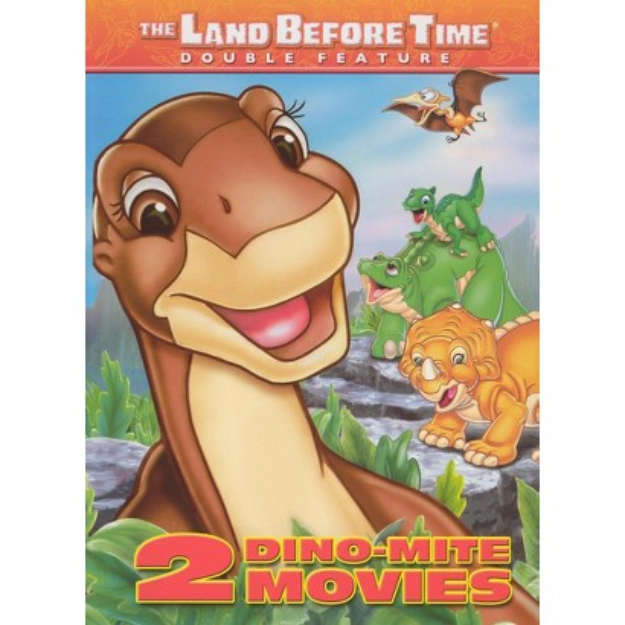 Universal Studios The Land Before Time: 2 Dino-Mite Movies