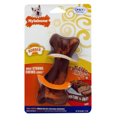 Nylabone Flavor Frenzy Meatloaf and Gravy Dog Toy