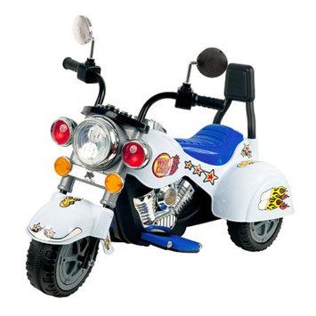 Lil' Rider White Knight Motorcycle Three Wheeler