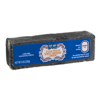 Stop & Shop 100th Anniversary Extra Sharp White Cheddar Cheese