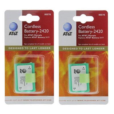 AT & T ATT 89-1318-00 (2-Pack) Telephone Batteries