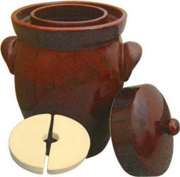 K & K Fermenting Crocks K & K Keramik German Gartopf Fermenting Crock Pot Hand Crafted in Germany 7Liters