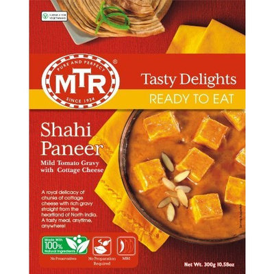 MTR Shahi Paneer, 10.5-Ounce Boxes (Pack of 10)