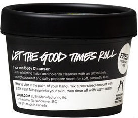 Lush Let the Good Times Roll Face And Body Cleanser