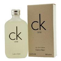 Calvin Klein Ck One Eau De Toilette Spray 3.4 OZ