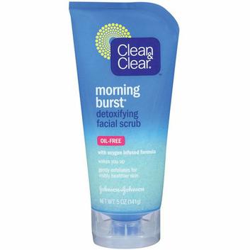 Clean & Clear (R) Morning Burst(Tm) Detoxifying Facial Scrub Cleansers 5 Oz