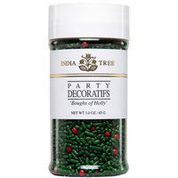 India Tree Boughs of Holly Decoratifs, 3 oz (Pack of 3)