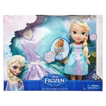 DisneyFrozen Elsa Doll and Toddler Dress Combo