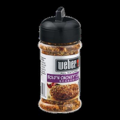Weber All Natural Seasoning Bold 'N Smokey Chipotle