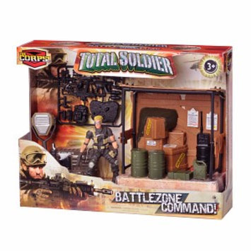 The Corps Total Soldier Battle Zone Command Warehouse Ages 3 +, 1 ea