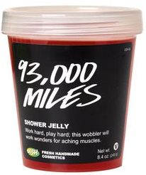 LUSH Miles Shower Jelly 93,000