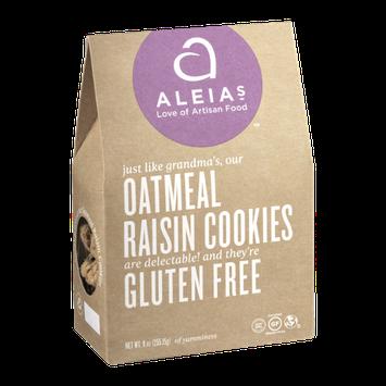 Aleia's Oatmeal Raisin Cookies Gluten Free