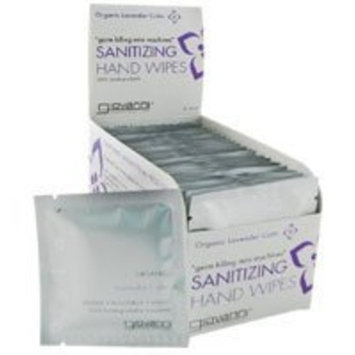 Giovanni Cosmetics, Inc. Giovanni Sanitizing Hand Wipes Lavender Calm -- 24 Wipes