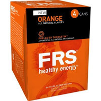 FRS Healthy Energy Liquid, Orange, 11.5-Ounce Cans (Pack of 24)