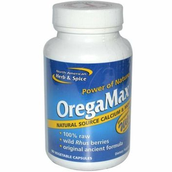 North American Hreb & Spice North American Herb and Spice OregaMax 90 Vegetable Capsules