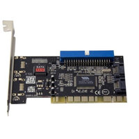 Syba Serial ATA 2 Port RAID and ATA133 1 Port Controller VIA Chipset Plug & Play