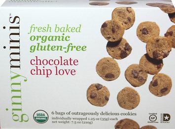 ginnybakes Mini Cookie Snack Packs, Chocolate Chip Love