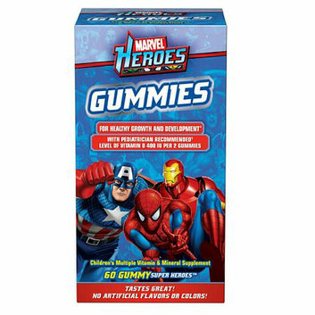 Marvel Heroes Multivitamin Gummies
